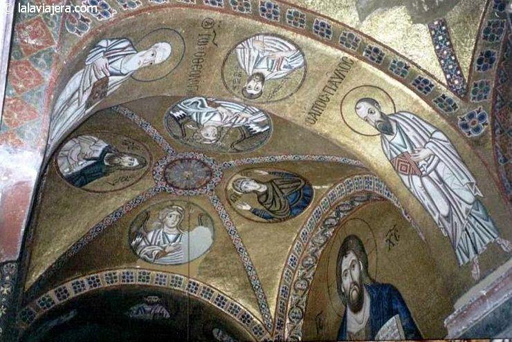 Mosaicos bizantinos del Monasterio Osios Loukas