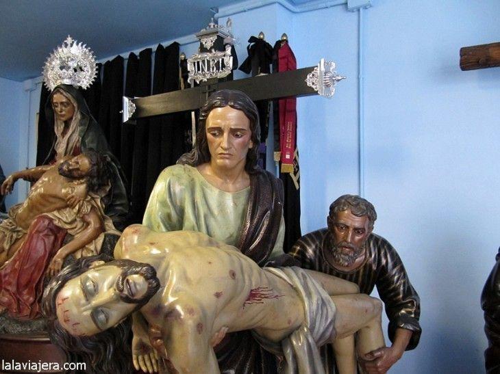 Descendimiento, Cofradía Minerva y Veracuz, León