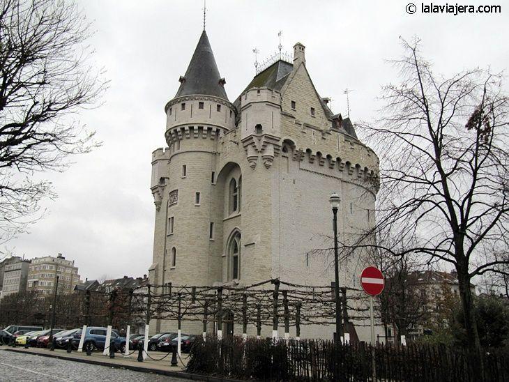 Porte de Hal, antigua puerta de la muralla de Bruselas