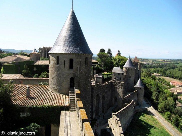 Murallas y Torres del Castillo de Carcassonne