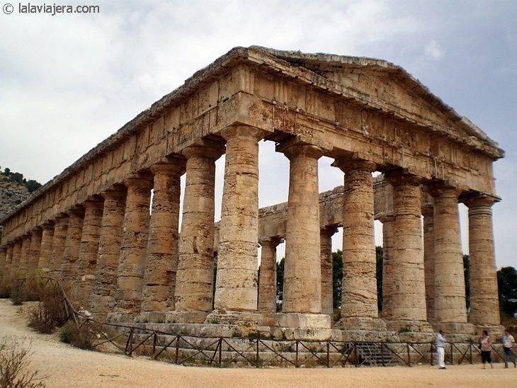 Templo de Segesta, en Sicilia