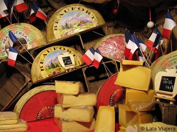 Quesos belgas, Mercado Navideño de Bruselas