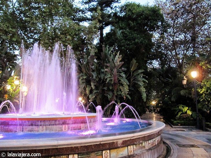 Fuente en el Parque de la Alameda, Marbella