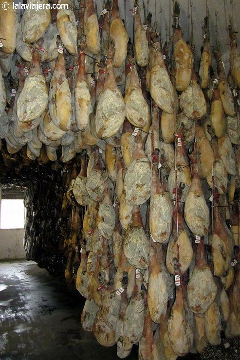 Sala de secado y curación de jamones