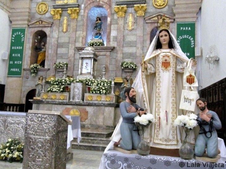 Altar mayor de la Catedral de Campeche
