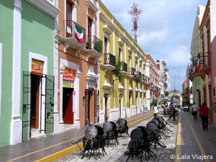 Calle 59, Campeche, México