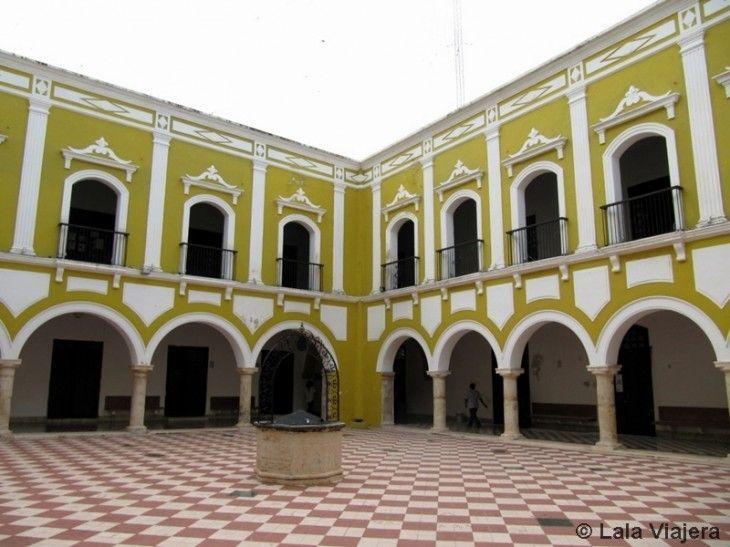 Claustro del Instituto Campechano, Campeche