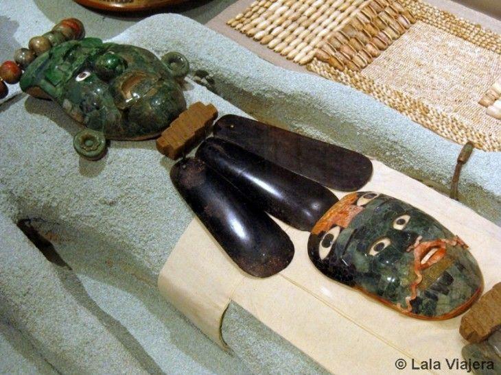Mascaras mayas de jade, Campeche