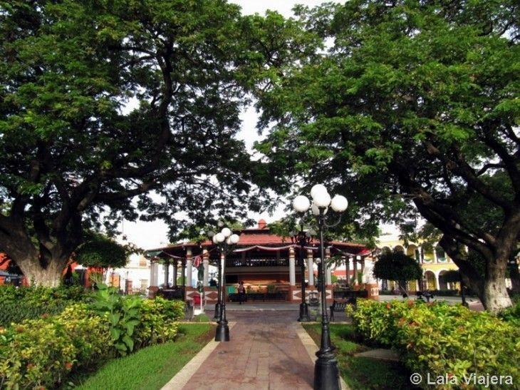 Plaza de la Independencia o Parque Principal de Campeche