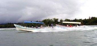 Excursion por el Cañon del Rio Dulce (Guatemala)