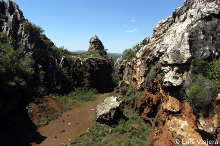 Senderismo por Cerro del Hierro