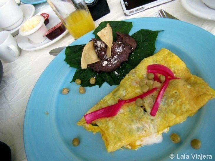 Tortilla de chaya, gastronomia mexicana