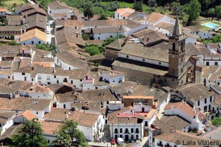 Conjunto Historico Artistico de Alajar, Huelva