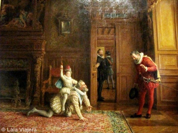 Cuadro de Enrique IV en el Castillo de Pau