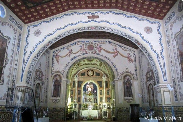 Virgen Ntra Sra de los Angeles, Peña Arias Montano, Alajar