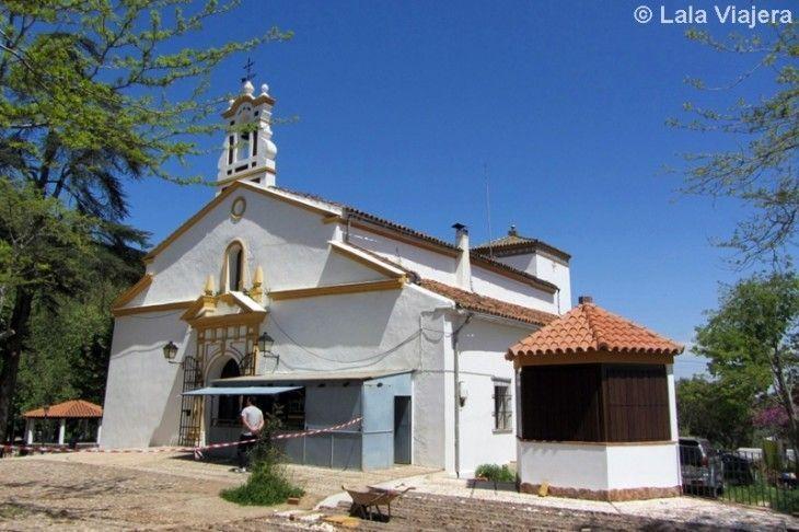 Ermita Ntra Sra de los Angeles, Peña Arias Montano, Alajar