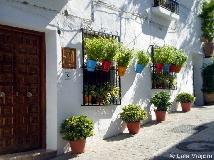 Calle típica del Barribarto de Frigiliana