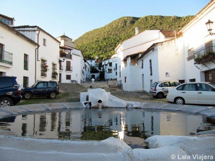 Lavaderos en Linares de la Sierra, Huelva