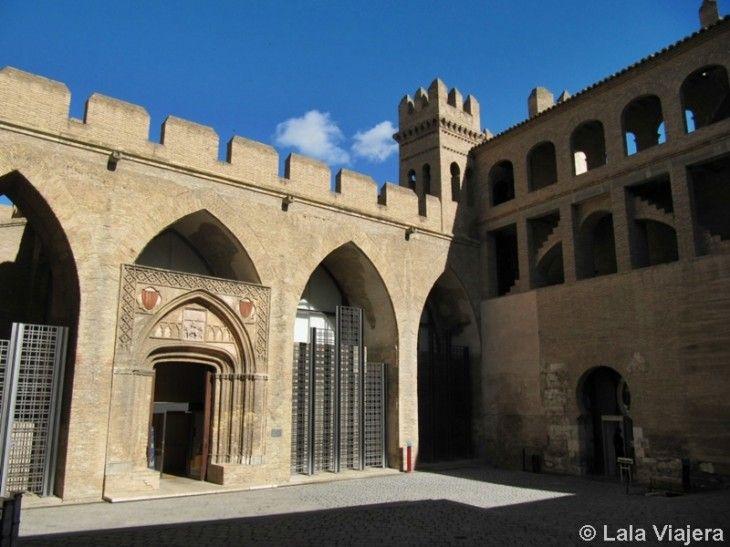 Patio de San Martin, Palacio de la Aljaferia