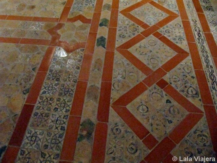 Pavimento del Salon del Trono, Palacio de la Aljaferia