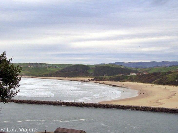 Playa de Meron, San Vicente de la Barquera, Cantabria