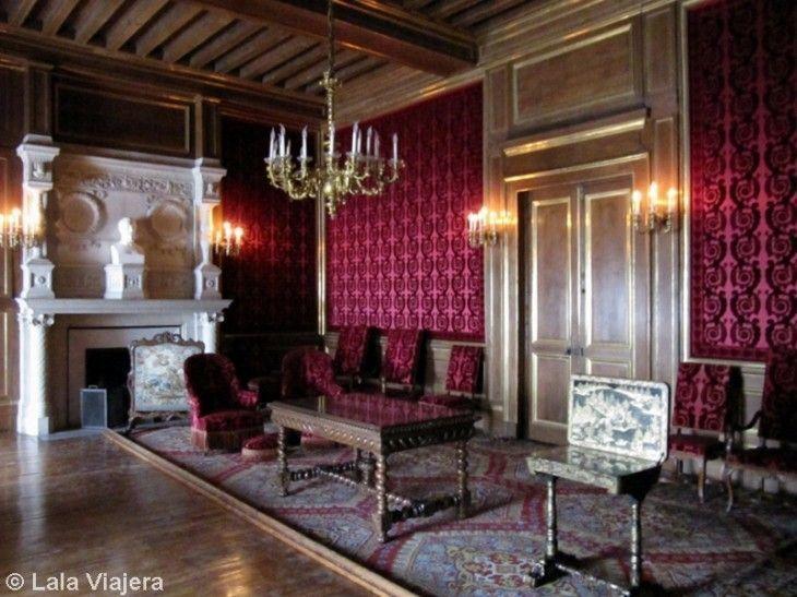 Salón de Familia de los reyes de Navarra, Castillo de Pau