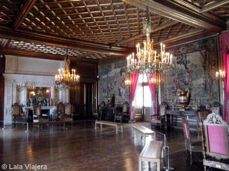 Salón del Trono de los Reyes de Navarra, Castillo de Pau