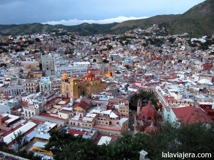 Guanajuato desde el Mirador del Pípila