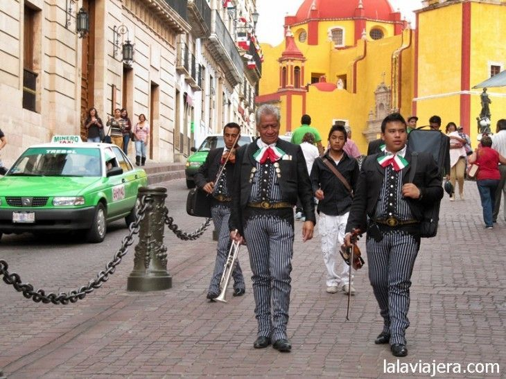 Mariachis en Guanajuato