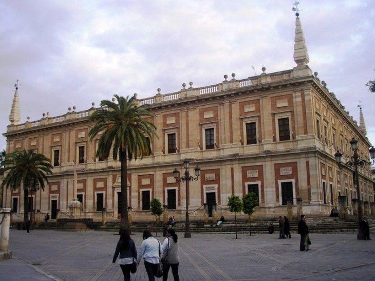 Archivo de Indias de Sevilla, Foto de Samu Betico (Lic. CC)