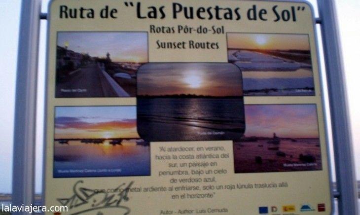 Ruta de las Puestas de Sol de Isla Cristina