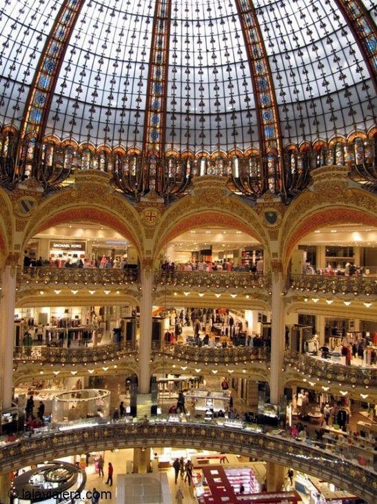 Miradores de París: Terraza de Galerías Lafayette