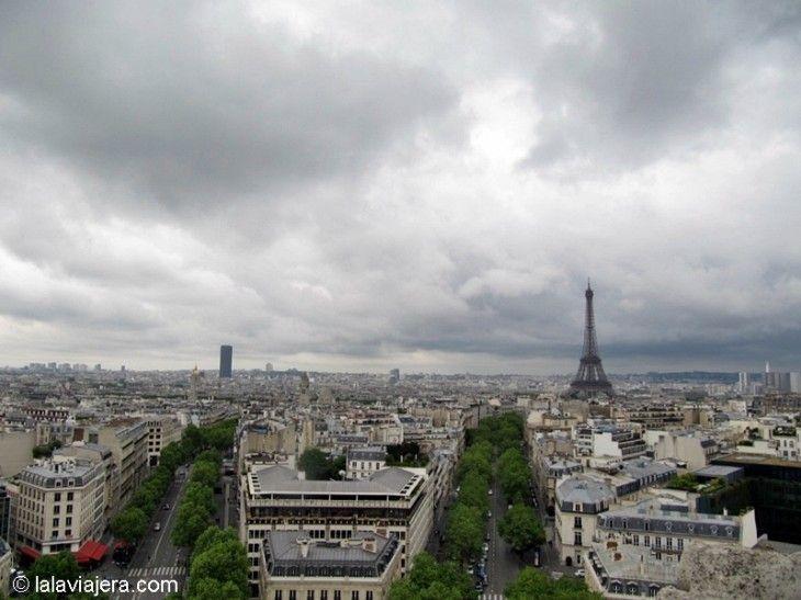 Los mejores miradores de París: Terraza del Arco del Triunfo