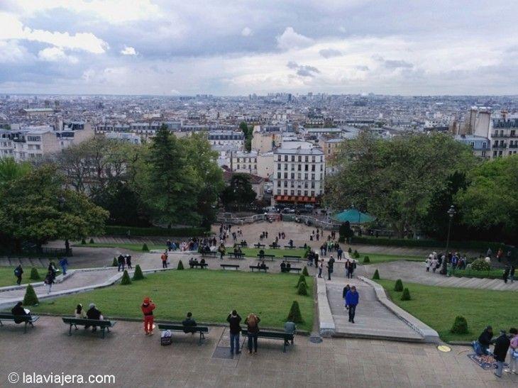 Los mejores miradores de París: Colina de Montmartre