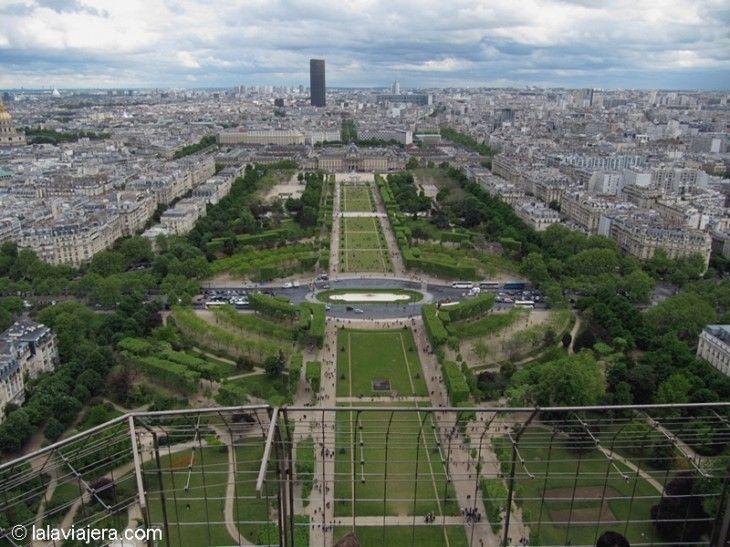 El Campo de Marte desde la Torre Eiffel