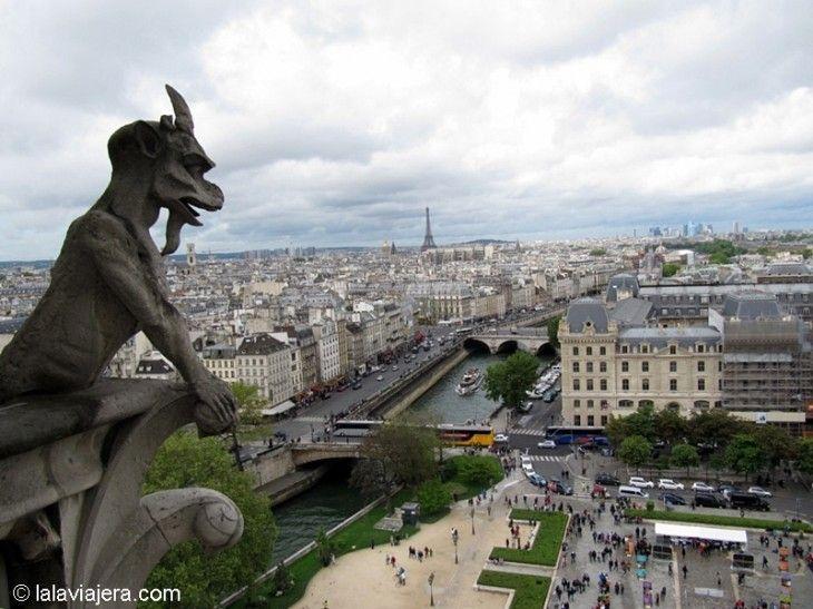 Los mejores miradores de París: Catedral de Notre Dame