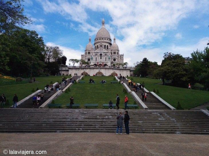 Basílica del Sagrado Corazón (Sacre Coeur), en Montmartre
