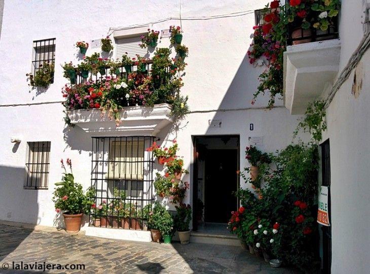 Casa del barrio de la Judería de Vejer ganadora del I Premio Embellecimiento de Fachadas