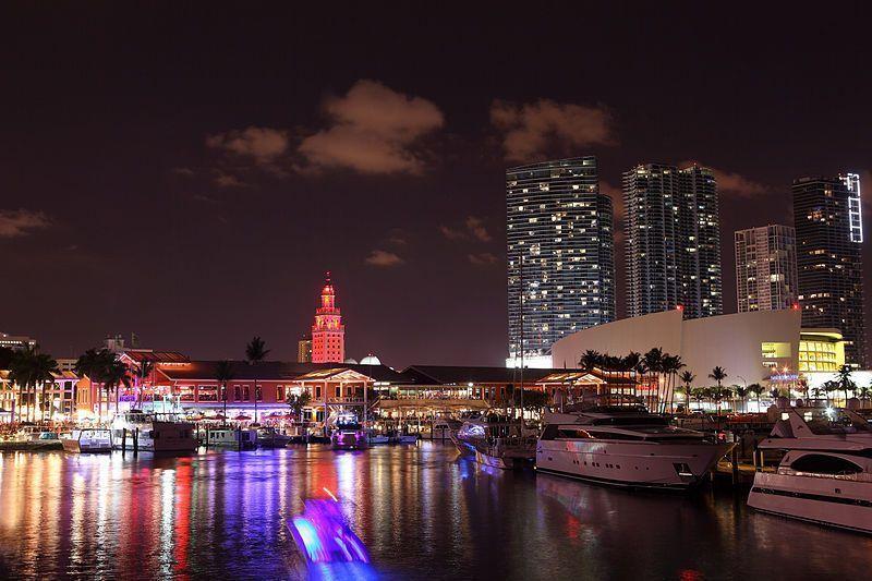 Puerto de Miami (Foto de Manuel Tennert, Lic. C.C)