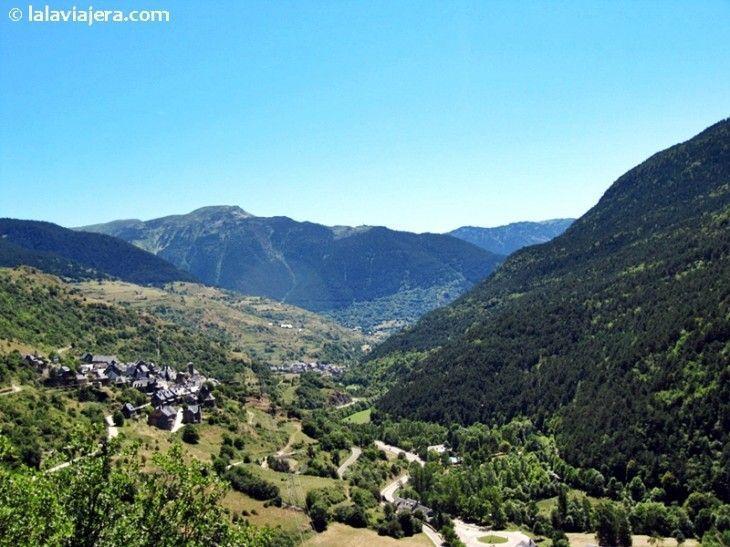 Valle de Arán desde el mirador de Vilamós