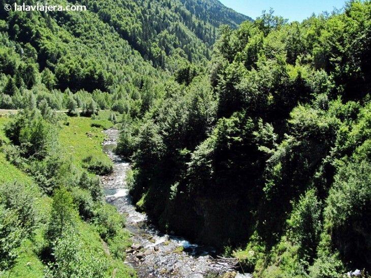 Río Varrados, Val d'Arán