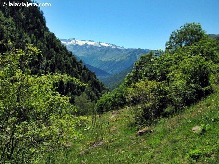Valle de Varradós, en el Pirineo Catalán