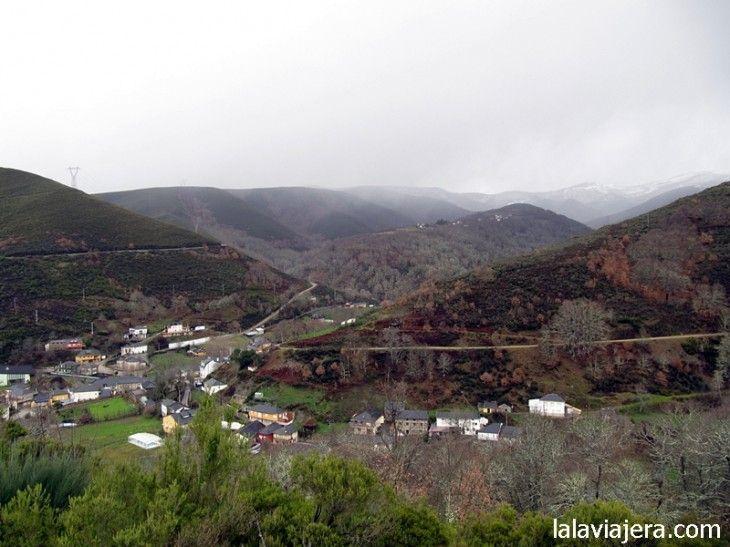 Pueblo de Balboa, en la comarca leonesa de El Bierzo