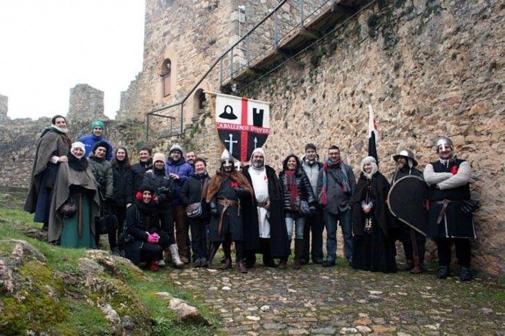 Visita teatralizada al Castillo de Cornatel con los Caballeros de Ulver