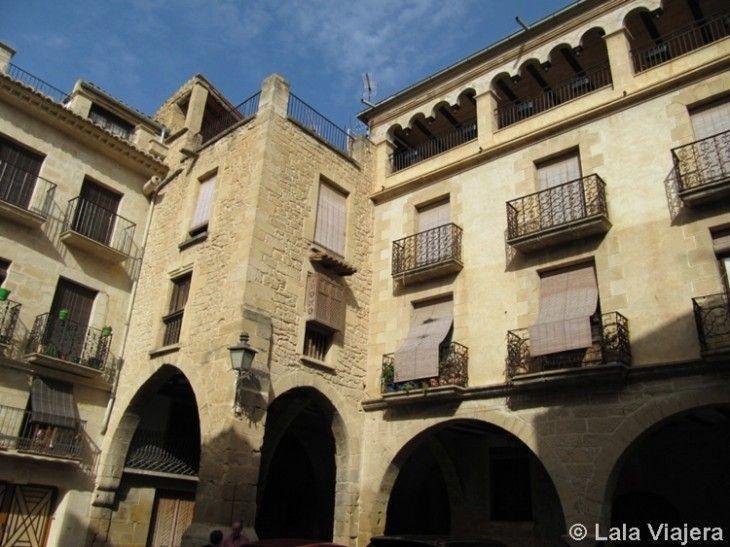 Plaza de España de Calaceite