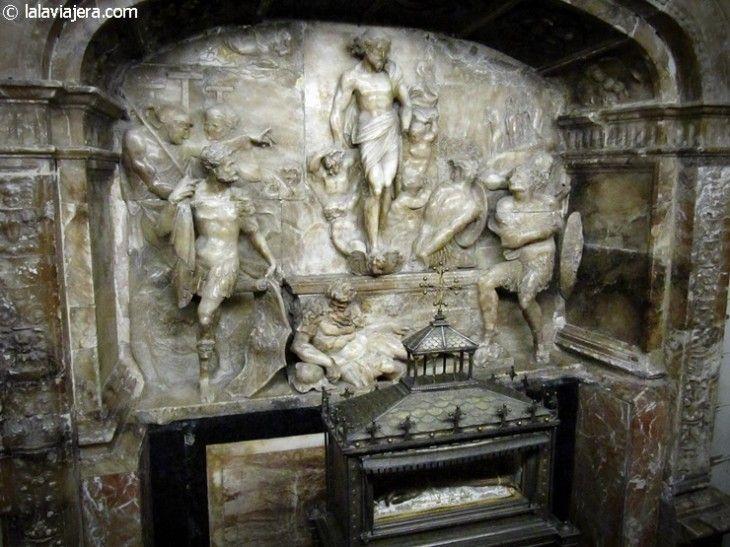Capilla de la Resurrección y brazo de San Vicente Mártir, Seu de Valencia