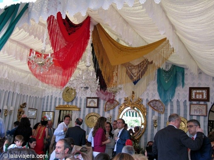 Caseta privada de la Feria de Abril