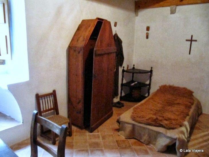 Celda del Monasterio de Miramar