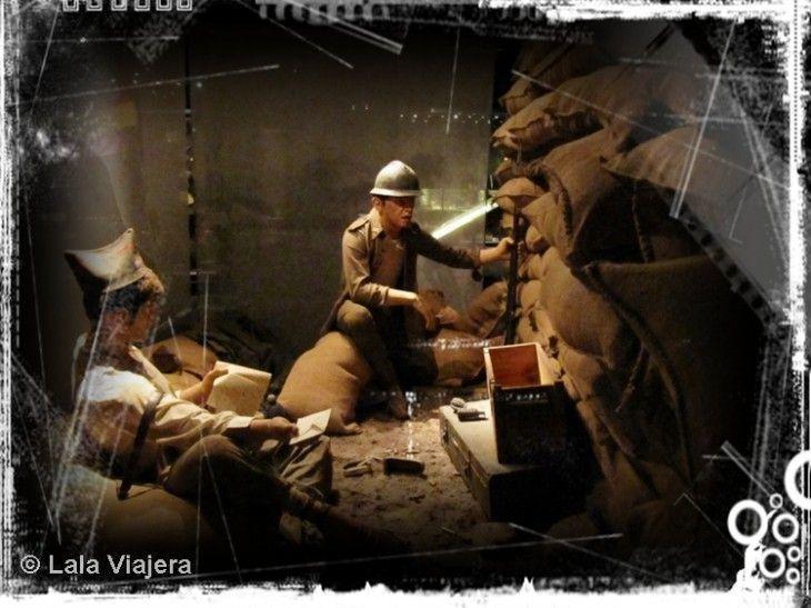 """Centro de Interpretación """"115 días"""" sobre la Batalla del Ebro"""