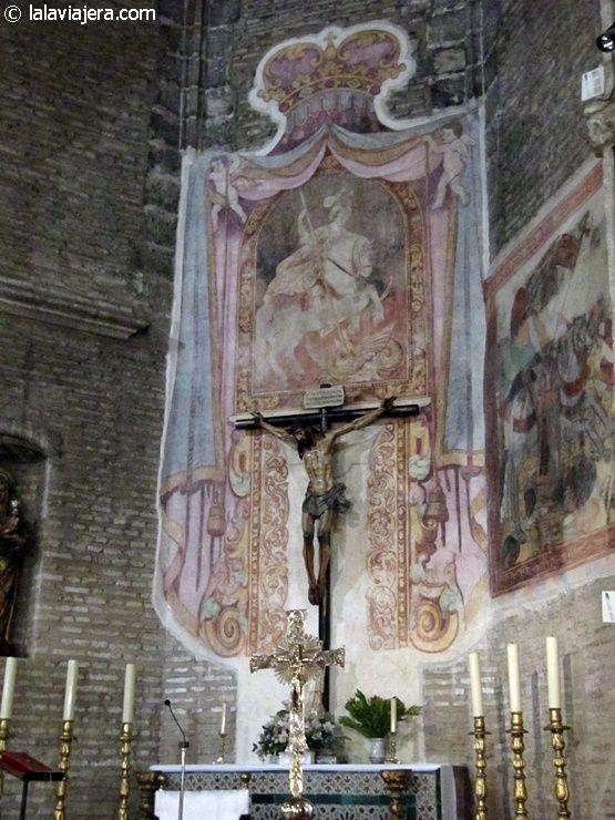 Cristo de la Sangre, Iglesia de San Jorge